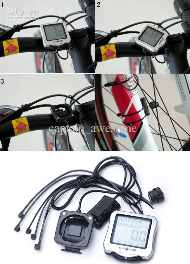 NEW Bicycle Bike LCD Computer Odometer Speedometer Waterproof Cycling