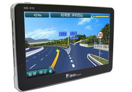 Новый автомобиль GPS модель 7-дюймовый HD 8 ГБ памяти бесплатная Европа североамериканские карты Windows CE 6.0 FM bluetooth Электронная книга