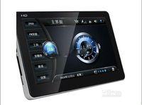auto gps navigator mp3 großhandel-Großverkauf - freies DHL GPS 5pcs GPS Navigation 7 Zoll Weltkarte FM Mp3 Mp4 2G4GB Built-in Bluetooth