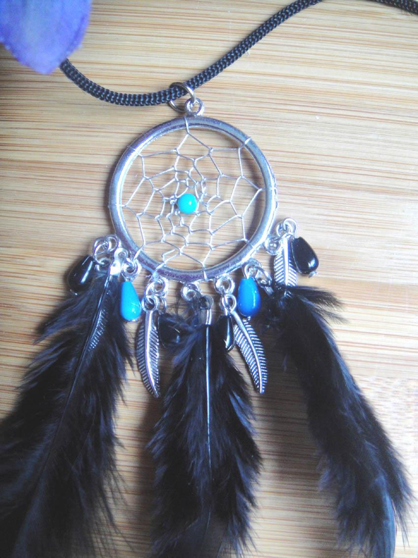What Stores Sell Dream Catchers free shipping hot sale BOHO style alloy dream catcher necklace 3