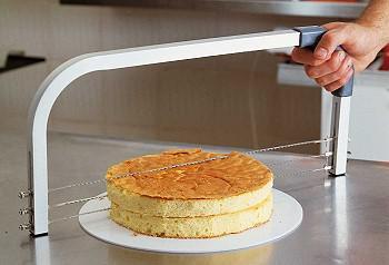 Grosshandel Kuchen Slicer Saw 3 Verschiedene Abschnitte