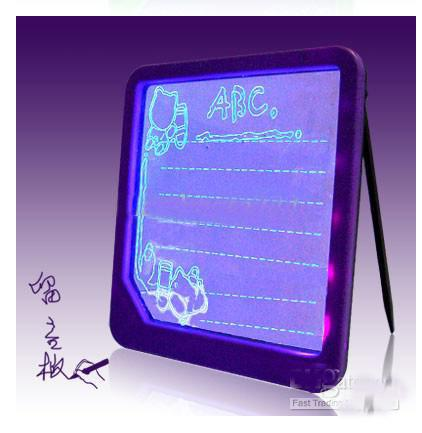 LED Message Board Illuminated Tablet Writing Board Advertising Board 10pcs