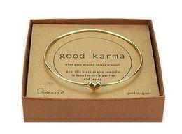 Wholesale Hot New Fashions beautiful Simple sweet hearts make a wish bracelet Wish Bracelets Gold Heart Bracelets