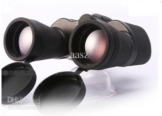 정품 군사 쌍안경 야간 투시경 쌍안경 베이지시 20x50 낮은 빛에 전원 공급