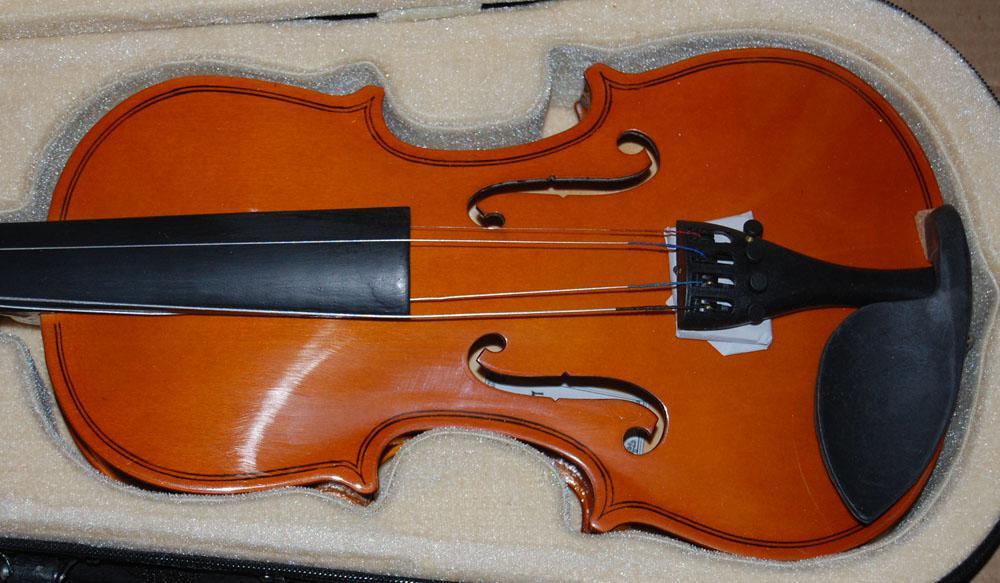 Violino all'ingrosso in vendita per bambini da principianti con violino 2/4