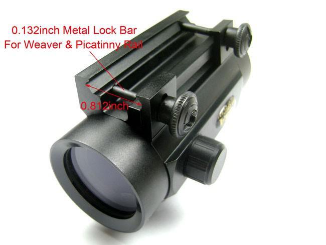 BSA 1x30 전술 적색 / 녹색 도트 소총 권총 스코프 시야 20mm 위버 마운트 RD30