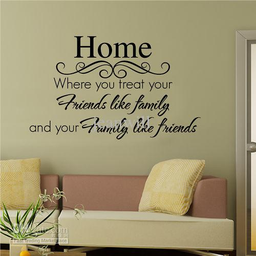 home wall quote decal sticker decor lettering saying wall art decals stickers home decor sticker home decor stickers from jeanwill 614 dhgatecom