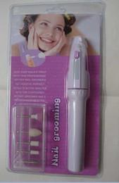 Wholesale Nail Buffer Drill Set - Nail grooming Manicure Pedicure Block nail art Drill Tool Set PRO 5 Styles Electric