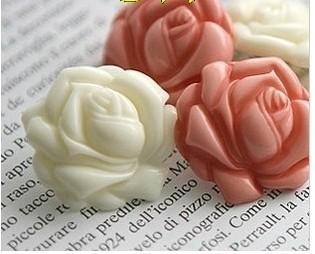 Горячие продажи новая красивая мода довольно прекрасный большой цветок розы серьги цветок розы Стад Бесплатная доставка