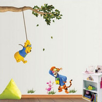 2017 New High Quality Retro Pu0026S Wall Stickers Winnie The Pooh U0026 Decor Art  Wall Paper Sticker Decal 5pcs From Dropshipping Suppliers Part 90