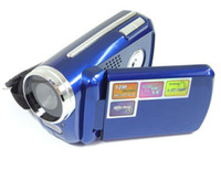 Wholesale Cmos Mini Digital Video Camera - New Mini Digital Video Camera DV Camcorder 12MP 4xZoom 1.8 LCD Blue Nice Gift