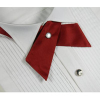 Wholesale crossover tie - crossover bowtie Cross bow women's bowtie men's bow ties 4 colors