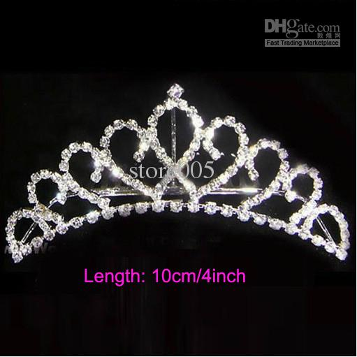 Silver crystals rhinestones bridal crown wedding crowns headpiece silver crystals rhinestones bridal crown wedding crowns headpiece h01 updo hair pieces veils for wedding from store005 2769 dhgate junglespirit Images