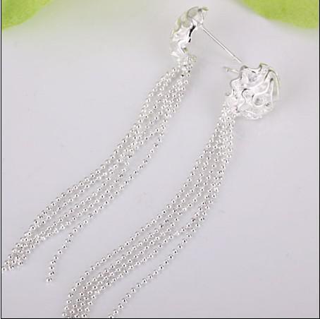 로즈의 베스트 셀러 925 쥬얼리 길이 7.2cm의 보석 선물 20pair 선물 무료 배송