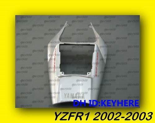 1ps Yamaha YZF R1 YZFR1 2002 2003 02 03 Carrosserie de carénage arrière de queue de ruban, Nouveau produit de rechange