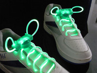 Wholesale Optical Fiber Led Toy - 2016 New style fashion led flashing shoelace light up shoe laces bright led optical fiber 3013