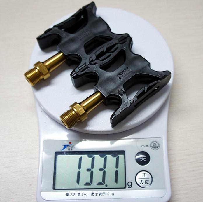 Pedali in titanio bicicletta Pedali / Assi / Alberi 55 g / coppia CROPS VP-ONE VP ONE VPONE Primaria / Oro