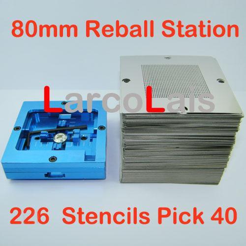 iPad 3 4 BGA Reball Stencil Löt Schablone Reballing Löten