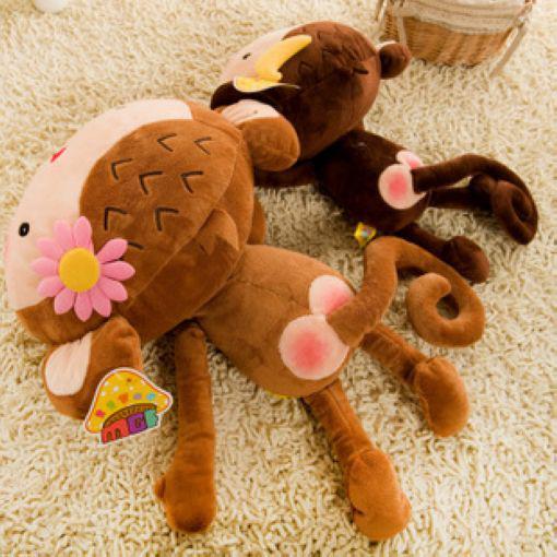 The Monkey Pluche Speelgoed 60 cm Grote Liefhebbers Monkey Doll Liefhebbers Monkey (station om te liegen willekeurig)