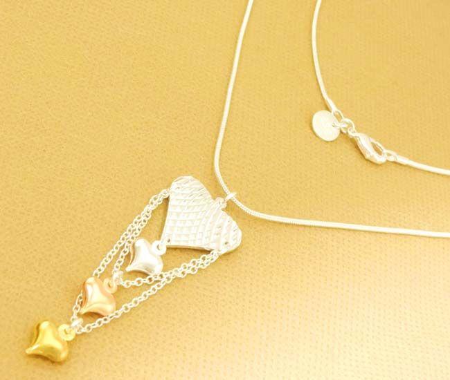 Hoge kwaliteit 925 zilveren 30 stks Mooie dames charme ketting 18 inch gemengde stijlen Nieuw
