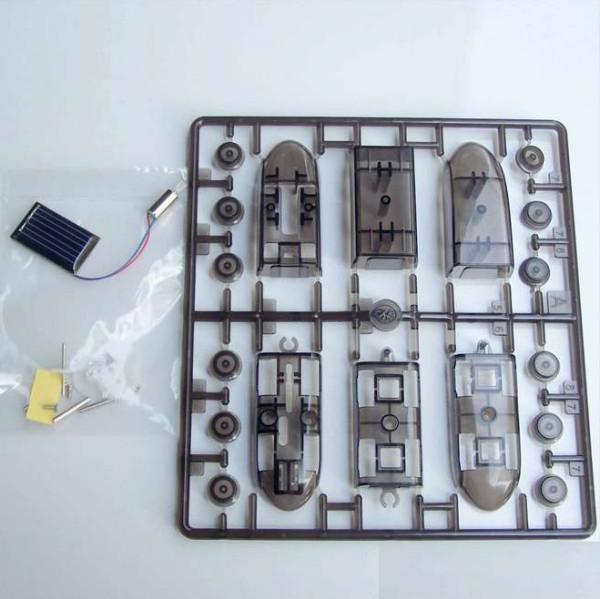 DIY Montagem Educacional Movido A Energia Solar Brinquedo Trem de Bala Brinquedo Solar de alta qualidade
