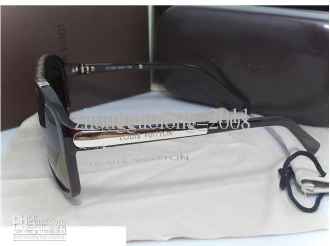 dc61d981a9841 2012 NEW Louis Vuitton Brown LV Evidence MILLIONAIRE Sunglasses Eyewear  Designer Sunglasses From Zhongguolong 2011