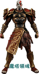 "Wholesale Neca Kratos Figures - Brand new NECA God Of War 2 Infamous Kratos Figure God of War Kratos Dark 7"" PVC Figure Children Gift Toy"