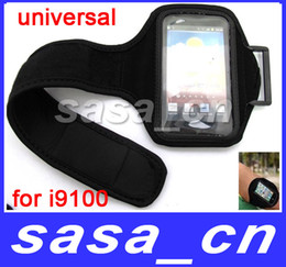 Wholesale Iphone 4s Running - Universal Arm Band Sports Running Armband Case for Samsung Galaxy S6 S6 Edge LG G3 G4 NEXUS S II S2 i9100 iPhone 3G 4S 4GS 4G