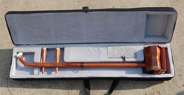 best selling Wholesale China musical instrument, GaoHu, annatto high-quality goods erhu, red wood poetry GaoHu, m