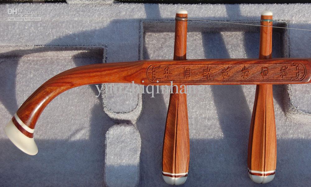 Partihandel Kina Musikinstrument, Gaohu, Annatto Högkvalitativa varor Erhu, Röd trä poesi Gaohu, m