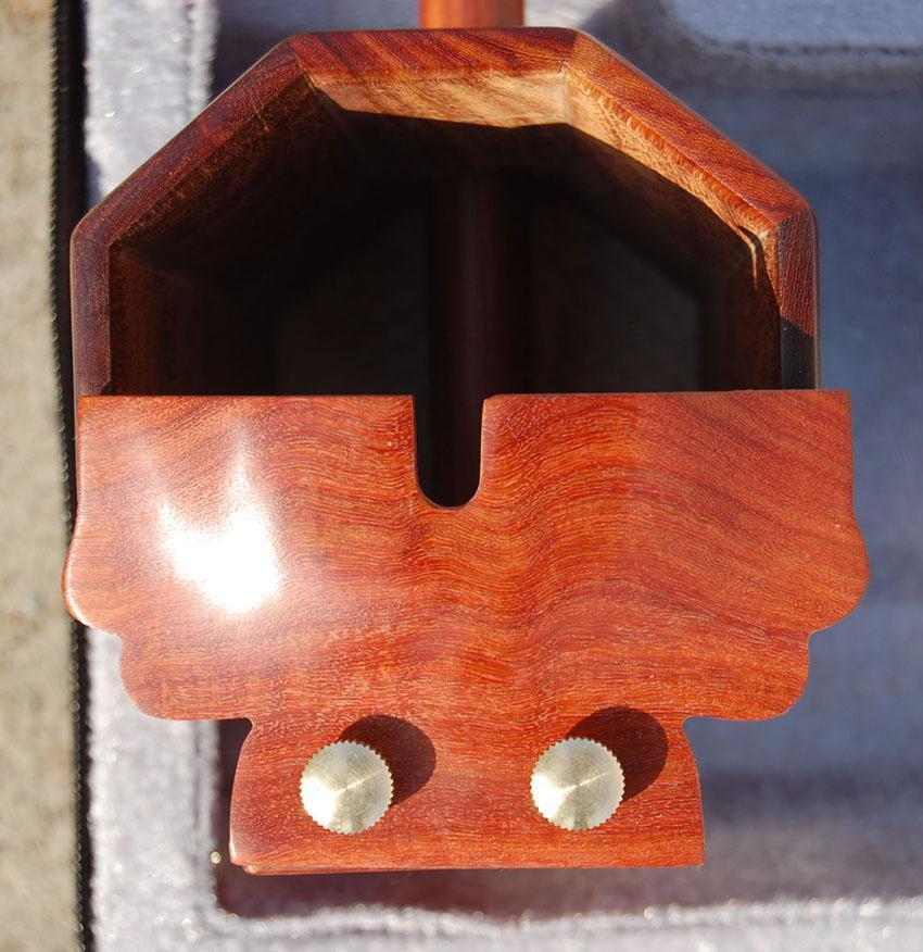 Instrumento musical de China al por mayor, GaoHu, mercancías de alta calidad del achatto del erhu, poesía de madera roja GaoHu, m