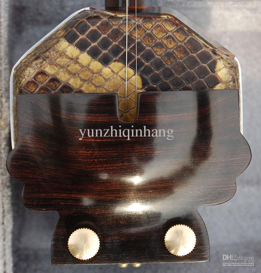 Wholesale Chine instrument de musique, GaoHu, noir wingceltis produits de haute qualité erhu, wingcelti noir