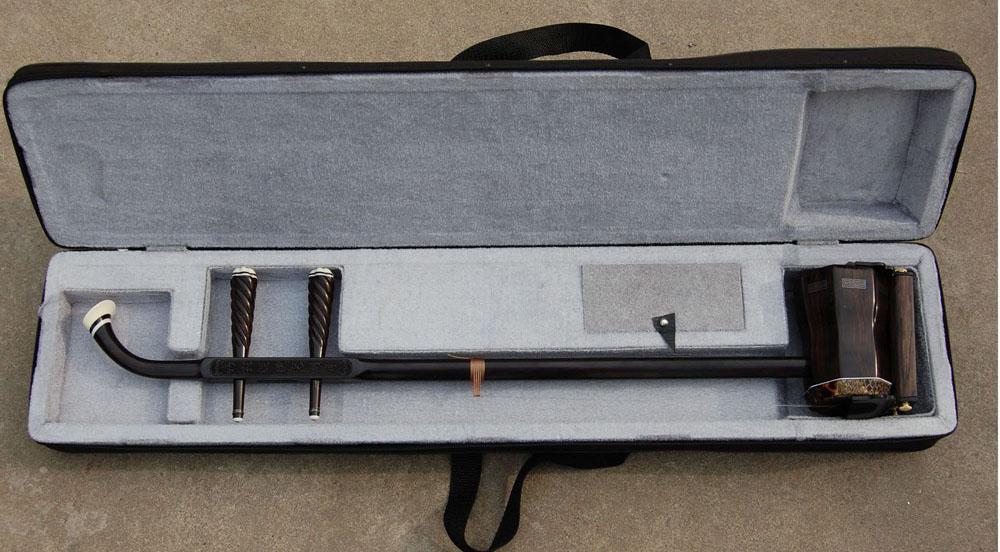Wholesale China musical instrument, GaoHu, black wingceltis high-quality goods erhu, black wingcelti