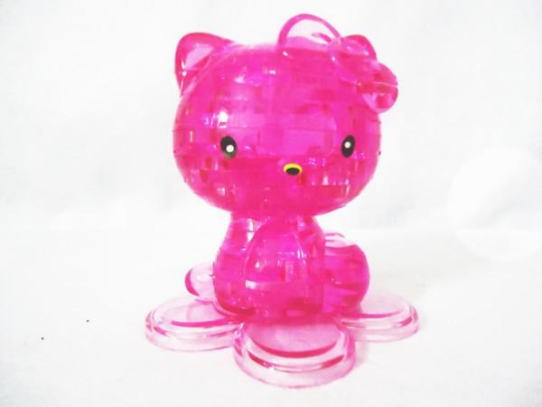 Rompecabezas de bloque de cristal en forma de estilo 3D Juguete de es ordenóalto quality