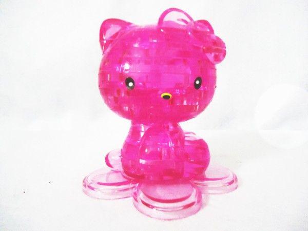 Rompecabezas de bloque de cristal en forma de estilo 3D Juguete de 2 colores ordenóalto quality1pcs