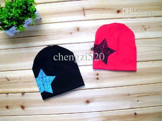 赤ちゃんの帽子冬の帽子5つ星のヘッドキャップハンサムな暖かい帽子のセット