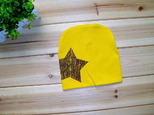 Sombrero de bebé Sombrero de invierno Sombrero de cinco estrellas Gorros de cabeza Sombreros abrigados guapos