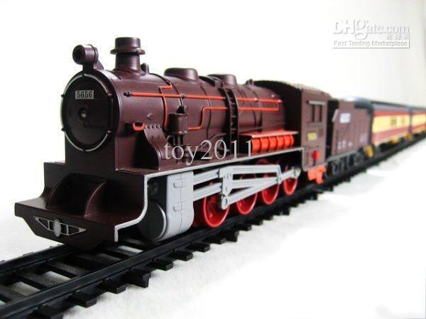 Il la cosa migliore Giocattolo del treno del treno che blocca il giocattolo elettrico del treno elettrico di alta qualità 7M TRACK alta qualità