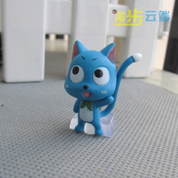 Wholesale Anime Figure Fairy Tail - 2017 New High quality Cool Anime Fairy Tail PVC Figures toy Set 6 Styles Mixed order 48pcs