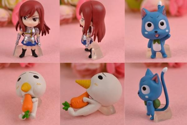 2017 New High quality Cool Anime Fairy Tail PVC Figures toy Set 6 Styles