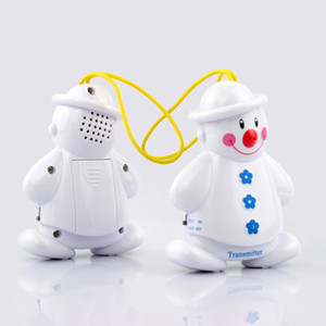 Wholesale Lovely Wireless Baby Cry Detector Monitor Watcher Alarm Mother s helper high quality1pcs