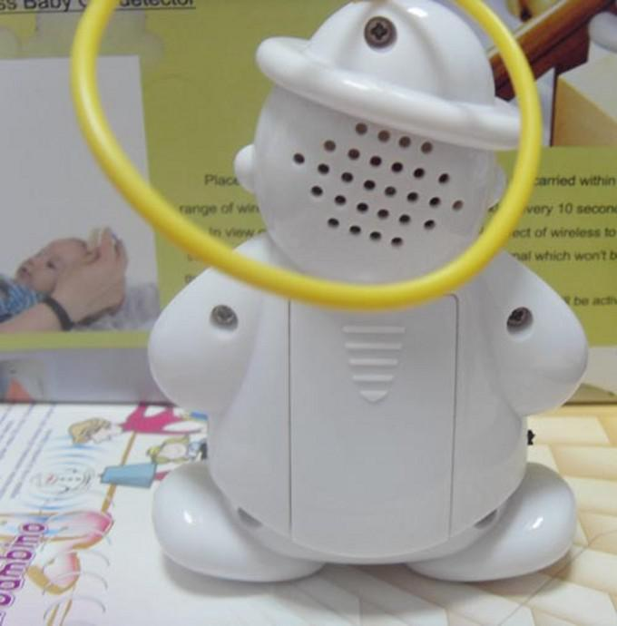 Lovely Wireless Baby Cry Detector Monitor Watcher Alarm Mother's helper high quality