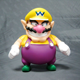 Wholesale Super Mario Wario Figure - New High Quality PVC Cute Super Mario Bros Wario Figure 12.5 cm children gift toy
