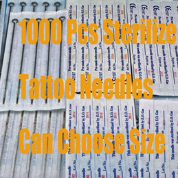 $enCountryForm.capitalKeyWord Canada - 1000pcs Lot Assorted Sterilized Tattoo Needle Disposable Pre-made Needles Tattoo Gun Kits Supplies