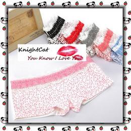 Wholesale Traditional Ladies Underwear - Panties Underwear Boxers Shorts Knickers Pants Women Cailco Sweet Girls Sexy Ladies 10pcs ZSD-NN015
