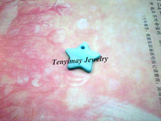 Mieszane kolory Star Shell Wisiorek, Charm Shell Shell, Moda Shell Jewelry Znalezienie darmowej wysyłki