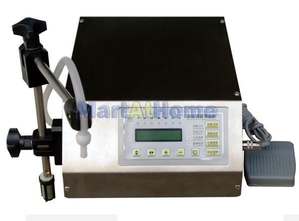 Compact Digital Control Pump Liquid Filling Machine 3-3000ml #BV078 @SD