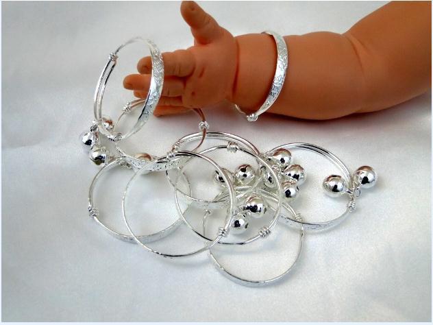 Affascinante! Monili del bambino del braccialetto del bambino del bambino del bambino del bambino del bambino del bambino del bambino del bambino del bambino dell'ingrosso / Trasporto libero N84