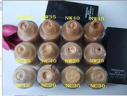 Wholesale Fixed Oils - NEW makeup HOT High quality makeup studio fix liquid foundation 30ML DHL free shipping