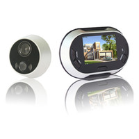 Wholesale 3 inch LCD Digital Video Door Viewer Peephole Doorbell Security Camera